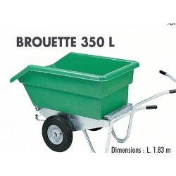 Brouette 350l