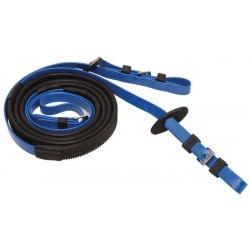 Rênes courses 19mm bleu roi