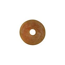 Rondelles de mors marron  (paires)